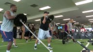 Loren Landow has a performance fitness training of elite athletes including members of the Denver Broncos potential NFL draftees and a woman on the...