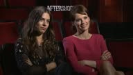 INTERVIEW Lorenza Izzo and Andrea Osvart on working with Eli Roth and Nicolas Lopez at the 'Aftershock' Los Angeles Press Junket INTERVIEW Lorenza...
