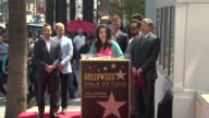 SPEECH Lori Meono on following the Backstreet Boys career and how proud she is to be here today at Backstreet Boys Celebrate 20 Year Career With Star...
