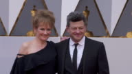 Lorraine Ashbourne and Andy Serkis at 88th Annual Academy Awards Arrivals at Hollywood Highland Center on February 28 2016 in Hollywood California 4K