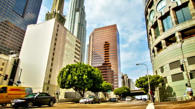 Geschäftsviertels von Los Angeles