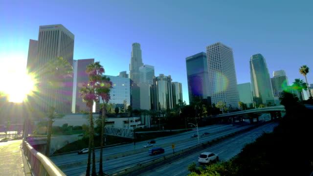 Los Angeles, CA early morning
