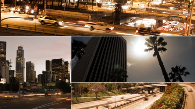 Los Angeles Collage/Montage