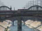 Los Angeles: Innenstadt von Beton River Bridges: Lagen