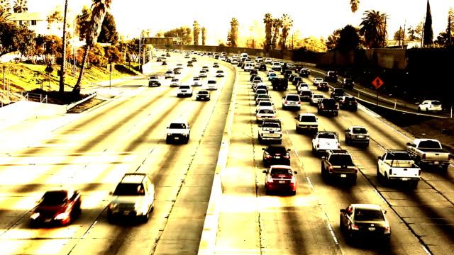 Los Angeles Freeway at Sunset