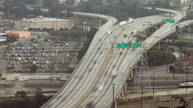 Los Angeles Freeway Overhead Day