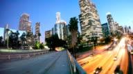 Los Angeles Skyline Night