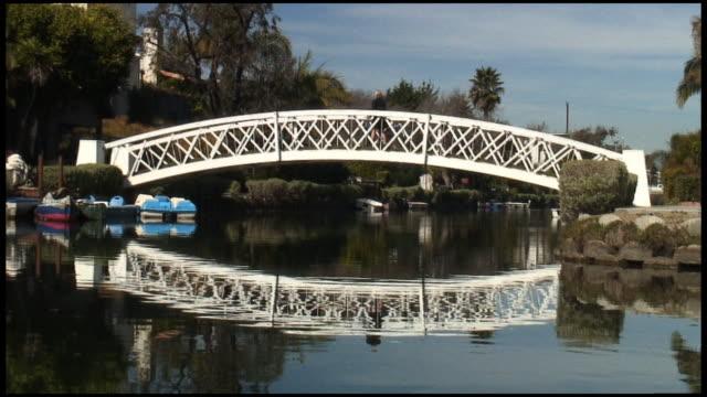 (HD1080i) Los Angeles: Venice Beach sich das durch Radfahrer