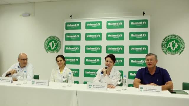 Los dos supervivientes brasilenos del accidente aereo del Chapecoense se encuentran en buenas condiciones físicas y psicologicas