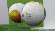Los organizadores de los JJOO Brasil 2016 presentaron este miercoles los productos oficiales que venderan la marca del mayor evento deportivo del...