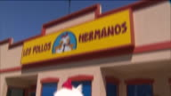 """KTLA Los Pollos Hermanos the front restaurant from AMC's """"Breaking Bad"""" and """"Better Call Saul"""" will have a shortlived appearance as a popup in the..."""