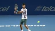 Los tenistas Novak Djokovic y Rafael Nadal disputaran esta semana el Abierto Mexicano de Tenis donde estan sembrados 1 y 2 respectivamente
