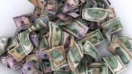 Lots of Falling American Bills