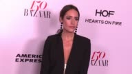 Louise Roe at the Harper's BAZAAR Celebrates 150 Most Fashionable Women at Sunset Tower on January 27 2017 in West Hollywood California
