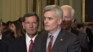 Louisiana Senator Bill Cassidy says that as a doctor of 25 years his goal is coverage for patients that for his standard the Kimmel test where those...