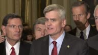 Louisiana Senator Bill Cassidy says that through circumstances in their control and not that there are not the votes for a healthcare bill...