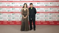 Photocall Zhang Ziyi and Changwei Gu Love for life Photocall on November 02 2011 in Rome Italy