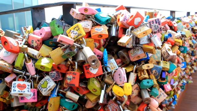 Love lock Landmark Korea