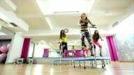I love mini trampoline