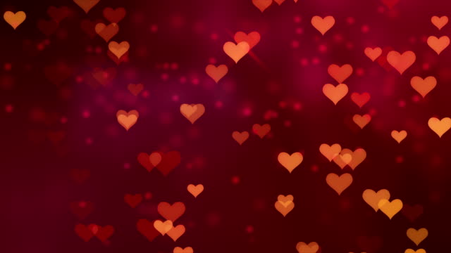 Love Red Backgrounds Loopable