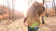 I love sunshine in my hair!