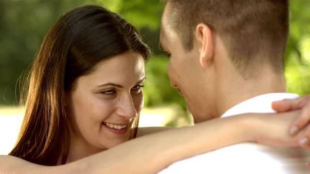 HD: Loving Couple In Embrace