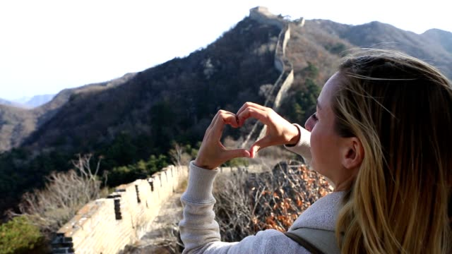 Loving the Great Wall of China
