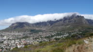 low angle of table mountain