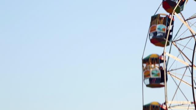 Low angle view of a Ferris Wheel, Suraj Kund, Faridabad, Haryana, India
