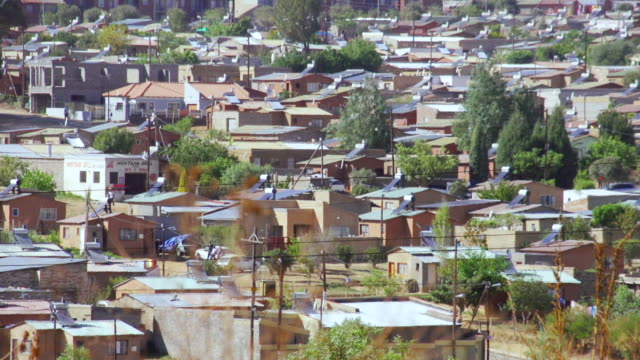 WS Low cost housing with solar geysers / Cosmo City, South Africa