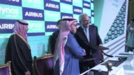 Lowcost Saudi carrier flynas on Monday signed an $86billion deal with European plane manufacturer Airbus to purchase 80 A320neo singleaisle jets