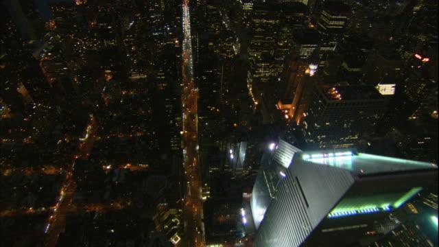 Lower Manhattan Financial District Buildings