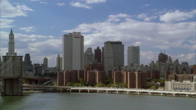 WS Lower Manhattan Skyline / New York City, New York, USA