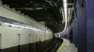 T/L MS Lower Manhattan subway station, New York City, New York, USA