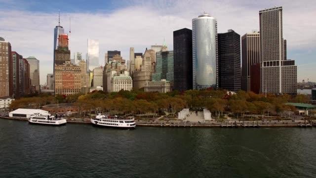 NYC Lower Manhattan waterline