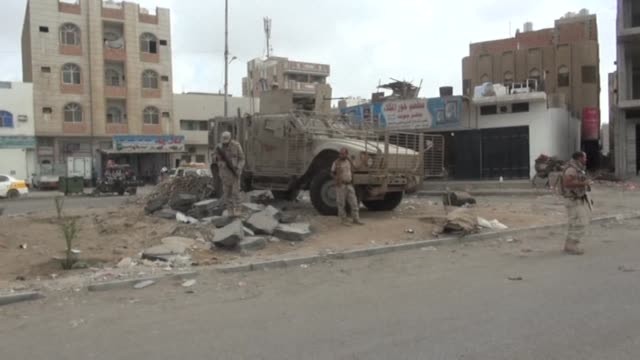 Loyalist forces pushed AlQaeda out of parts of Aden on Wednesday in a new drive against the jihadists in Yemen's second city where the...