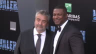 Luc Besson and Chris Tucker at the 'Valerian and the City of a Thousand Planets' World Premiere at TCL Chinese Theatre on July 17 2017 in Hollywood...