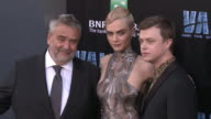 Luc Besson Cara Delevingne and Dane DeHaan at the 'Valerian and the City of a Thousand Planets' World Premiere at TCL Chinese Theatre on July 17 2017...