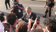 Luc Besson outside TCL Chinese Theatre in Hollywood in Celebrity Sightings in Los Angeles