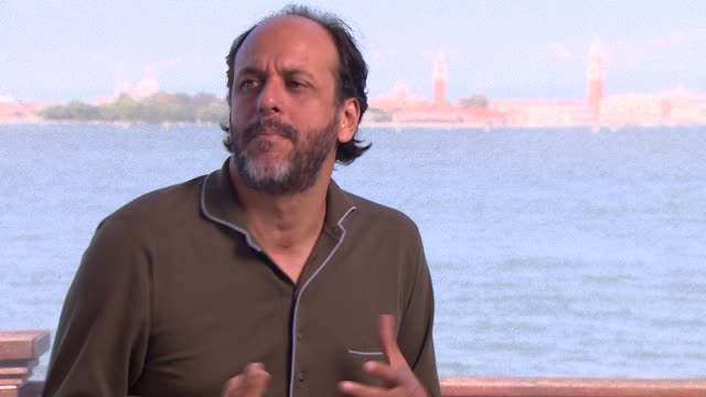 INTERVIEW Luca Guadagnino on Tilda Swinton's character and on rock stars at 'A Bigger Splash' Interview 72nd Venice Film Festival on September 07...