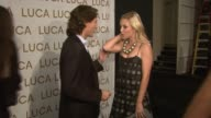 Luca Orlandi and Tinsley Mortimer at the Luca Luca Spring 2008 Collection Runway Show at MercedesBenz Fashion Week at the Promenade Bryant Park in...