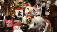 Lucky rakes at the Ohtori Shrine Festival Close Shot