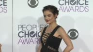 Lucy Hale at the People's Choice Awards 2016 at Nokia Plaza LA LIVE on January 6 2016 in Los Angeles California