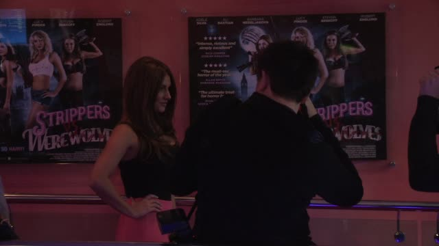 Lucy Pinder at Strippers vs Werewolves World Premiere at Apollo Piccadilly Circus on April 24 2012 in London England