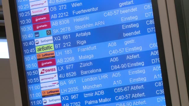 Lufthansa pilots launched a strike Monday extending Germanys travel chaos after train drivers stopped work at the weekend just as school holidays...