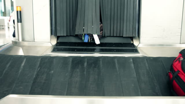 Luggage conveyor belt