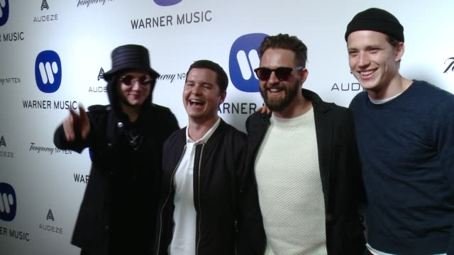 Lukas Graham at Warner Music Group Grammy After Party 2016 in Los Angeles CA