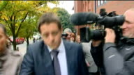 StokeonTrent EXT Former Plymouth Argyle footballer Luke McCormick with partner along to court through press scrum