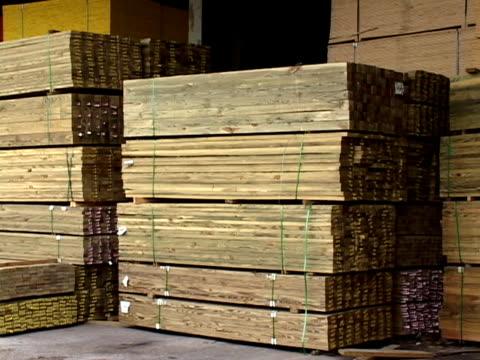 Materiali di legno per la vendita al dettaglio