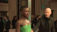Lupita Nyong'o at EE British Academy Film Awards at The Royal Opera House on February 16 2014 in London United Kingdom
